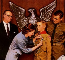 Norman Rockwell Eagle Scout